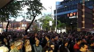 Protesters Take to Streets of Belgrade After Vucic Election Win - Video