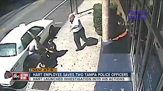 HART employee helps police, now faces discipline - Video