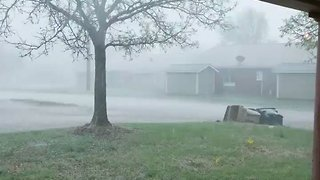 Intense Storm Hits Haviland, Kansas