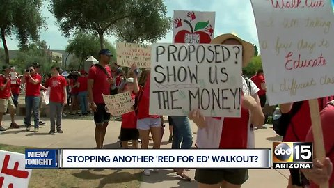 Proposed Arizona bill, H.B. 2017, looks to limit school walkouts like Red for Ed movement