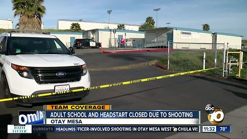 Shooting investigation forces education programs to close