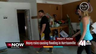 Harrisonville homeowners frustrated after more flooding - Video