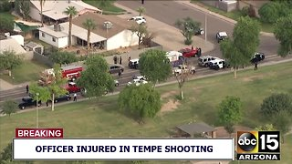 Two officers shot in Tempe shooting