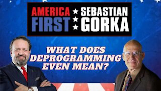 What does deprogramming even mean? Victor Davis Hanson with Sebastian Gorka on AMERICA First