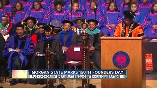 Morgan State University marks 150th anniversary - Video