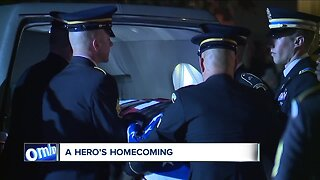Conneaut hero soldier's body returns with a hometown procession