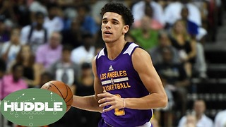 Are the Lakers a 50-Win Team with Lonzo Ball? -The Huddle - Video