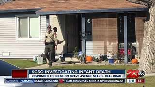 KCSO investigating infant death
