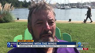 Annapolis man beats pancreatic cancer and is sailing with the winds