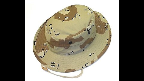 R&B Desert 6 Color Boonie Hat
