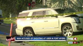 Man accused of shooting at Uber in Fort Myers