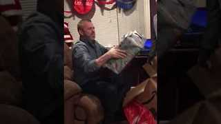 Kid Saves to Buy His Dad a PS4 for Christmas - Video