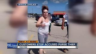 Group comes together to stop thief in Racine Piggly Wiggly parking lot - Video