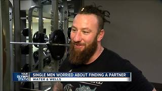 Single men are more worried about finding a partner - Video