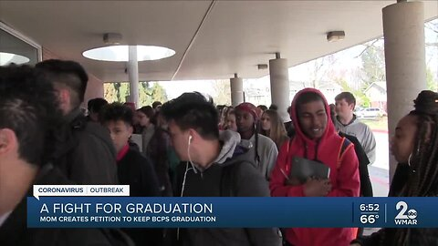 A fight for graduation, mom creates petition to keep BCPS graduation