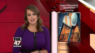 South Grand Avenue closed for road work - Video