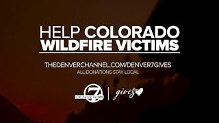 Help Colorado wildfire victims with Denver7 Gives
