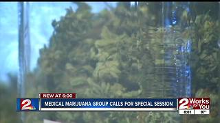 Medical marijuana group calls for special session - Video