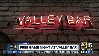 Valley Bar hosts free game night on Mondays - Video