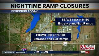 I-80 Ramp Closures - Video