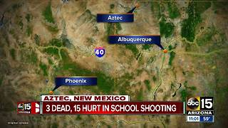 Three dead in New Mexico shooting - Video