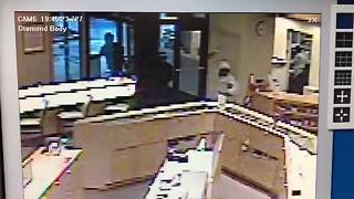 RAW: Surveillance video of jewelry store smash-and-grab in Copley