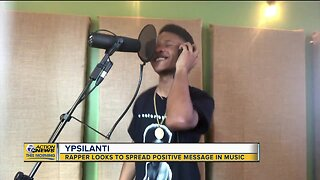 This young rapper from Ypsilanti is sending a positive message through his music