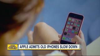 Apple admits to deliberately slow down old iPhones