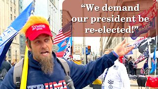 Americans Say! We Demand Our President Be Re-elected | Washington DC | 2020-12-12
