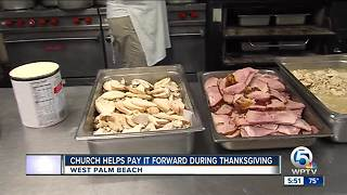 St. Catherine's Greek Orthodox Church serves up Thanksgiving meals - Video