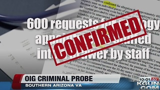"OIG ""criminal"" probe into Tucson VA confirms whislebower's claims"