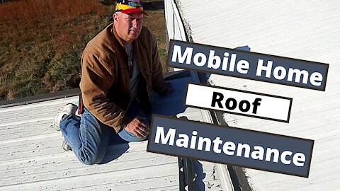 What You Need to Know Mobile Home Roof Maintenance