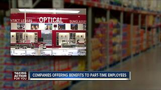 Part-time jobs with full-time perks and benefits - Video