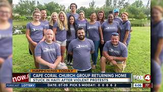 Cape Coral church group return home after being stuck in Haiti - Video