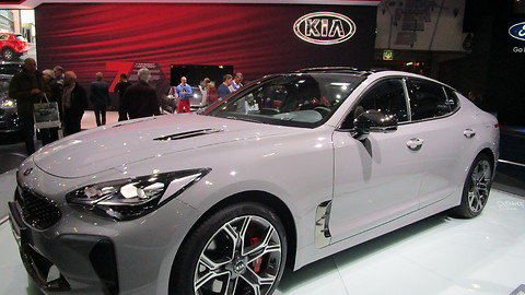 KIA Stinger GT at Autosalon Brussel 2018