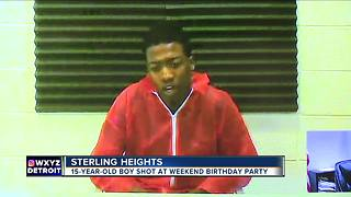 Shooting at Sterling Heights house party - Video