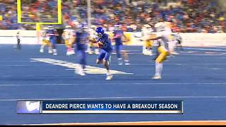 DeAndre Pierce is hoping for another solid year - Video