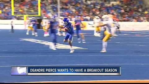 DeAndre Pierce is hoping for another solid year
