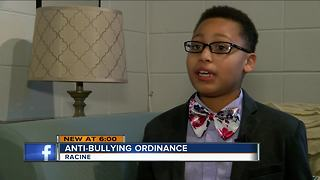 Proposed ordinance to try to limit bullying in schools