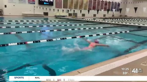 Lee's Summit swimmer setting records in her junior season