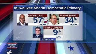 Earnell Lucas wins Democratic nomination for Milwaukee County Sheriff - Video