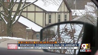 Edgewood considering ban on Airbnb's