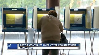 Battle continues over voter registrations