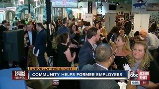 Laid off Laser Spine Institute employees attend job fair
