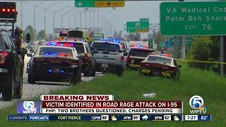 Victim, brothers identified in fatal I-95 road-rage stabbing in Riviera Beach - Video