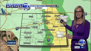 First Alert Action Day: Sunday, severe storms