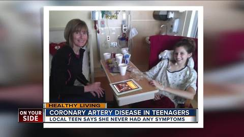Coronary artery disease is a hidden danger for teenagers