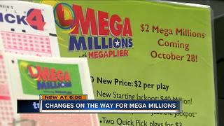 Big changes coming to Mega Millions lottery - Video