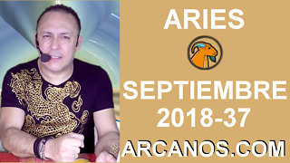 HOROSCOPO ARIES-Semana 2018-37-Del 9 al 15 de septiembre de 2018-ARCANOS.COM - Video