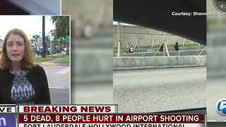 Traffic impacted due to Fort Lauderdale International Airport shooting - Video